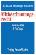 Fitting / Wlotzke / Wißmann |  Mitbestimmungsrecht | Buch |  Sack Fachmedien