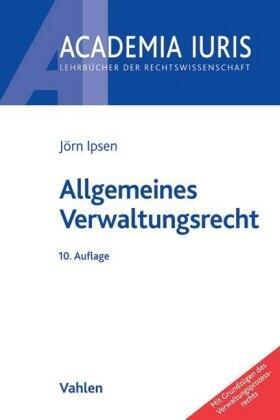 Ipsen | Allgemeines Verwaltungsrecht | Buch | sack.de