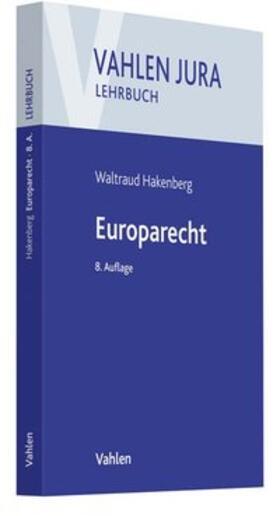 Hakenberg   Europarecht   Buch   sack.de