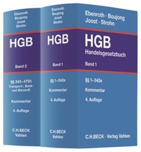 Boujong / Ebenroth / Joost   Handelsgesetzbuch: HGB   Buch   sack.de