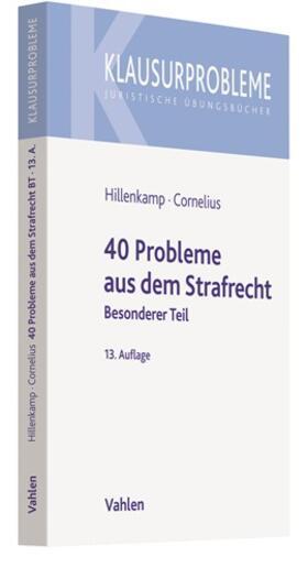 Hillenkamp / Cornelius | 40 Probleme aus dem Strafrecht | Buch | sack.de