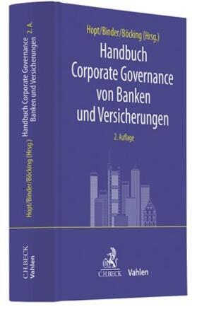 Hopt / Binder / Böcking | Handbuch Corporate Governance von Banken und Versicherungen | Buch | sack.de