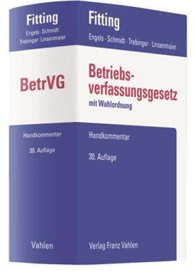 Fitting / Engels / Schmidt | Betriebsverfassungsgesetz: BetrVG  | Buch | sack.de