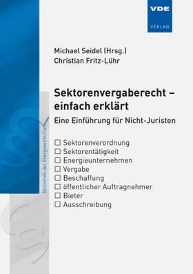 Fritz-Lühr | Sektorenvergaberecht  - einfach erklärt | Buch | sack.de