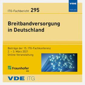 ITG-Fb. 295: Breitbandversorgung in Deutschland, CD-ROM   Sonstiges   sack.de
