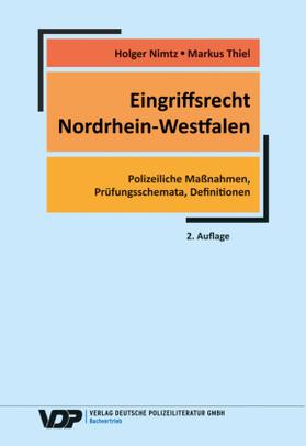 Nimtz / Thiel   Eingriffsrecht Nordrhein-Westfalen   Buch   sack.de