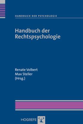 Volbert / Steller | Handbuch der Rechtspsychologie | Buch | sack.de