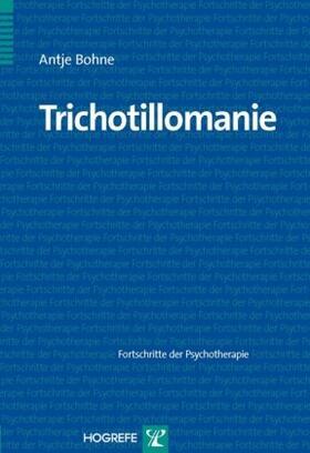 Bohne | Trichotillomanie | Buch | sack.de