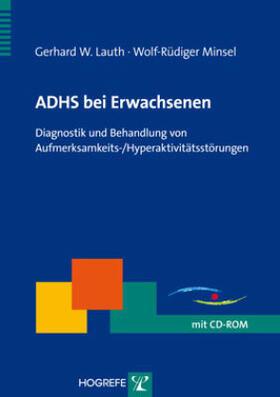 Lauth / Minsel | ADHS bei Erwachsenen, m. CD-ROM | Buch | sack.de