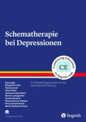 Egli / Keck / Frieß | Schematherapie bei Depressionen, m. CD-ROM | Buch | sack.de