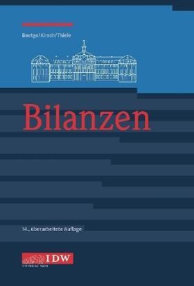 Baetge / Kirsch / Thiele | Bilanzen | Buch | sack.de