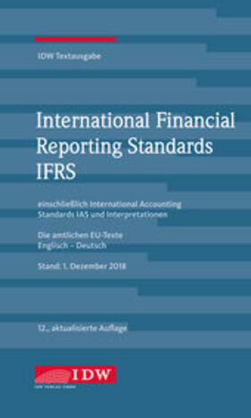 International Financial Reporting Standards IFRS | Buch | sack.de