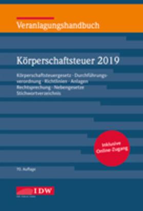 Veranlagungshandbuch Körperschaftsteuer 2019, 70. A. | Buch | sack.de