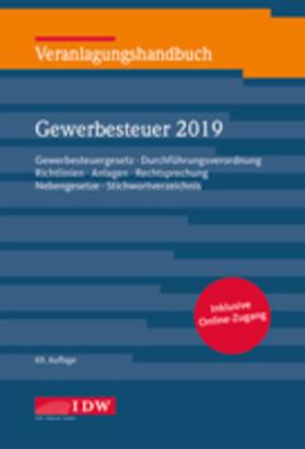 Veranlagungshandbuch Gewerbesteuer 2019, 69.A. | Buch | sack.de