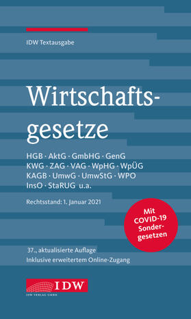Wirtschaftsgesetze | Buch | sack.de