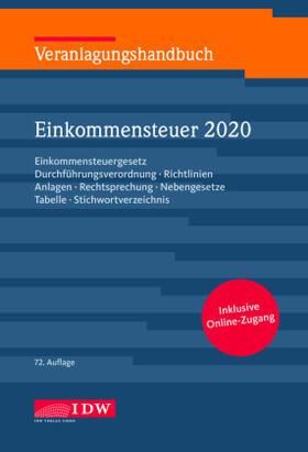 Veranlagungshandbuch Einkommensteuer 2020 | Buch | sack.de