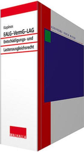 EALG - VermG - LAG inkl. CD-ROM   Loseblattwerk   sack.de
