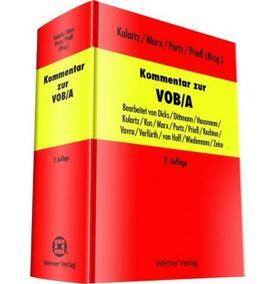 Kulartz / Marx / Portz | Kommentar zur VOB/A | Buch | sack.de