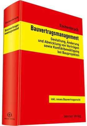Eschenbruch | Bauvertragsmanagement | Buch | sack.de