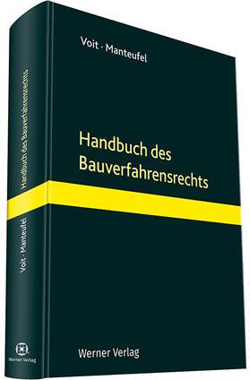 Manteufel / Voit / Voit | Handbuch Bauverfahrensrecht | Buch | Sack Fachmedien