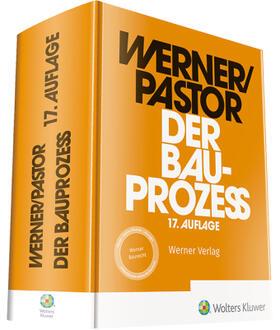Werner / Pastor | Der Bauprozess | Buch | sack.de