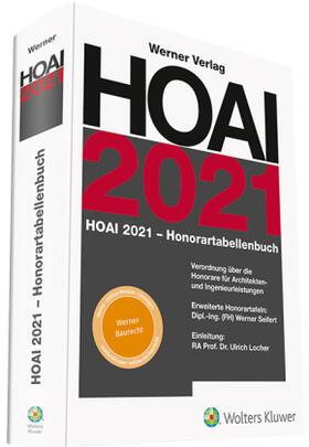 Locher / Seifert | HOAI 2021 - Honorartabellenbuch | Buch | sack.de