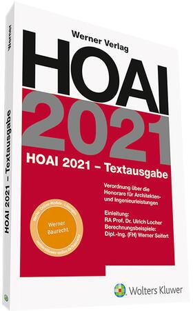 Locher / Seifert / Locher | HOAI 2021 - Textausgabe | Buch | sack.de
