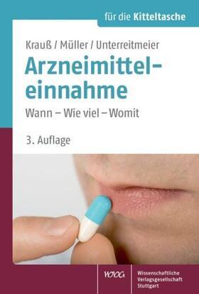 Krauß / Müller / Unterreitmeier   Arzneimitteleinnahme   Buch   sack.de