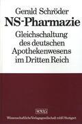 Schröder |  NS-Pharmazie | eBook | Sack Fachmedien