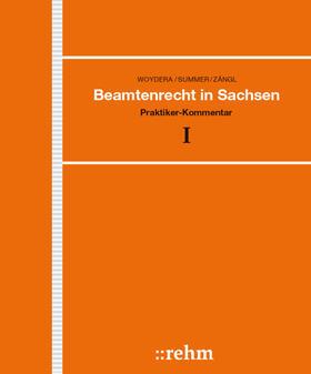 Woydera / Summer / Zängl | Beamtenrecht in Sachsen | Loseblattwerk | sack.de