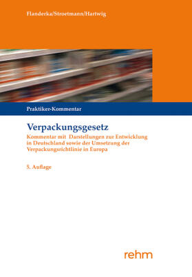 Stroetmann / Flanderka / Hartwig | Verpackungsgesetz | Buch | sack.de