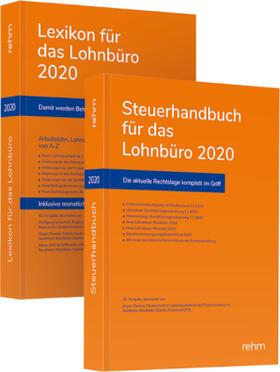Schönfeld / Plenker / Schaffhausen   Buchpaket Lexikon für das Lohnbüro und Steuerhandbuch für das Lohnbüro 2020   Buch   sack.de