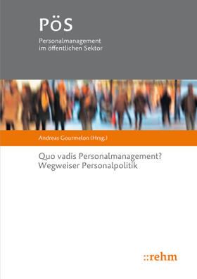 Gourmelon | Quo vadis Personalmanagement? | Buch | sack.de