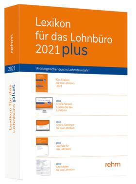 Schönfeld / Plenker / Schaffhausen | Lexikon für das Lohnbüro 2021 plus, m. 1 Buch, m. 1 Online-Zugang | Buch | sack.de