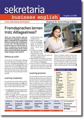 sekretaria business english | Buch | sack.de