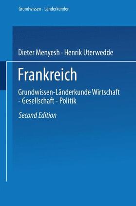 Menyesch / Uterwedde | Frankreich | Buch | sack.de
