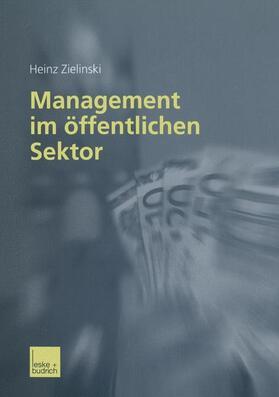 Zielinski   Management im öffentlichen Sektor   Buch   sack.de