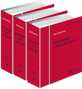 Geis / Battis / Becker | Hochschulrecht in Bund und Ländern | Loseblattwerk