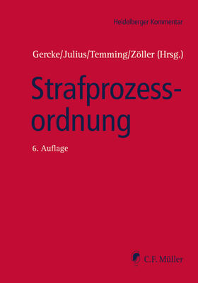 Gercke/Julius/Temming | Strafprozessordnung | Buch | sack.de