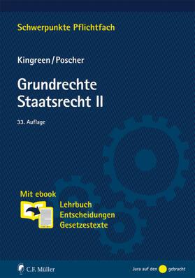 Kingreen / Poscher | Grundrechte. Staatsrecht II | Buch | Sack Fachmedien