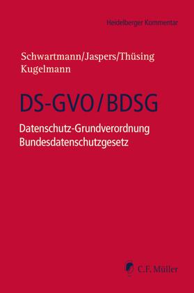 Schwartmann/Jaspers/Thüsing/Kugelmann  | Datenschutz-Grundverordnung (DSGVO) | Buch
