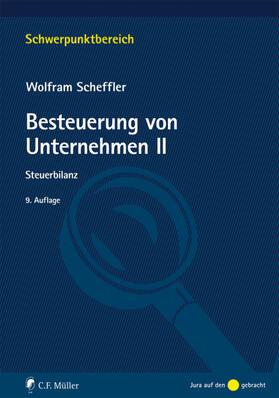 Scheffler   Besteuerung von Unternehmen II   Buch   sack.de