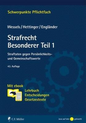 Wessels | Straftaten gegen Persönlichkeits- und Gemeinschaftswerte | Buch | sack.de