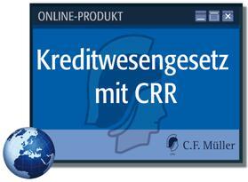 Kreditwesengesetz mit CRR online | Datenbank | sack.de