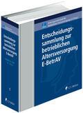 Drochner    Entscheidungssammlung zur betrieblichen Altersversorgung - E-BetrAV   Loseblattwerk    Sack Fachmedien