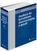 Drochner |  Handbuch der betrieblichen Altersversorgung, H-BetrAV - Textsammlung | Loseblattwerk |  Sack Fachmedien