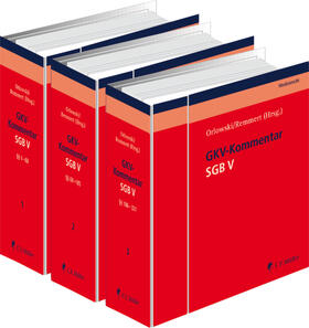 Bäune / Büscher / Clausen | SGB V-Kommentar - Gesetzliche Krankenversicherung - GKV | Loseblattwerk | sack.de