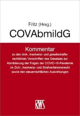 Fritz   COVAbmildG - COVInsAG   Buch   sack.de