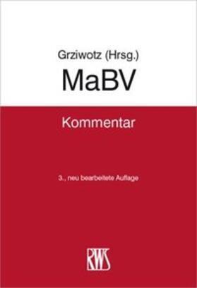 Grziwotz | MaBV | Buch | Sack Fachmedien
