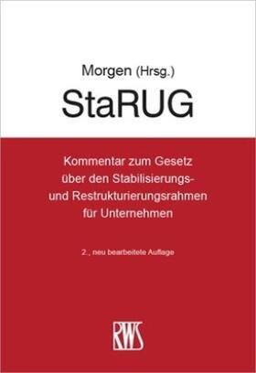 Morgen | StaRUG | Buch | sack.de